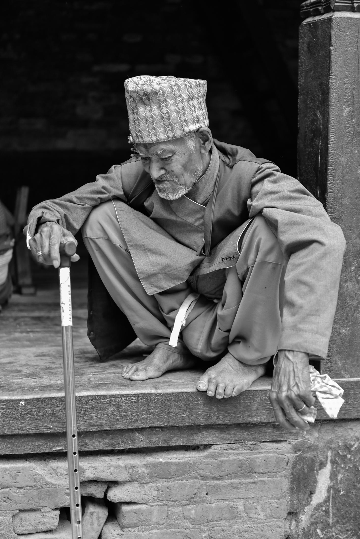 alter Mann Nepal