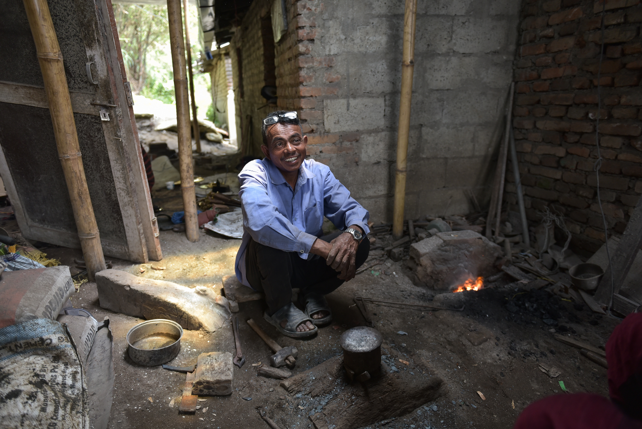 Messerschmied Nepal