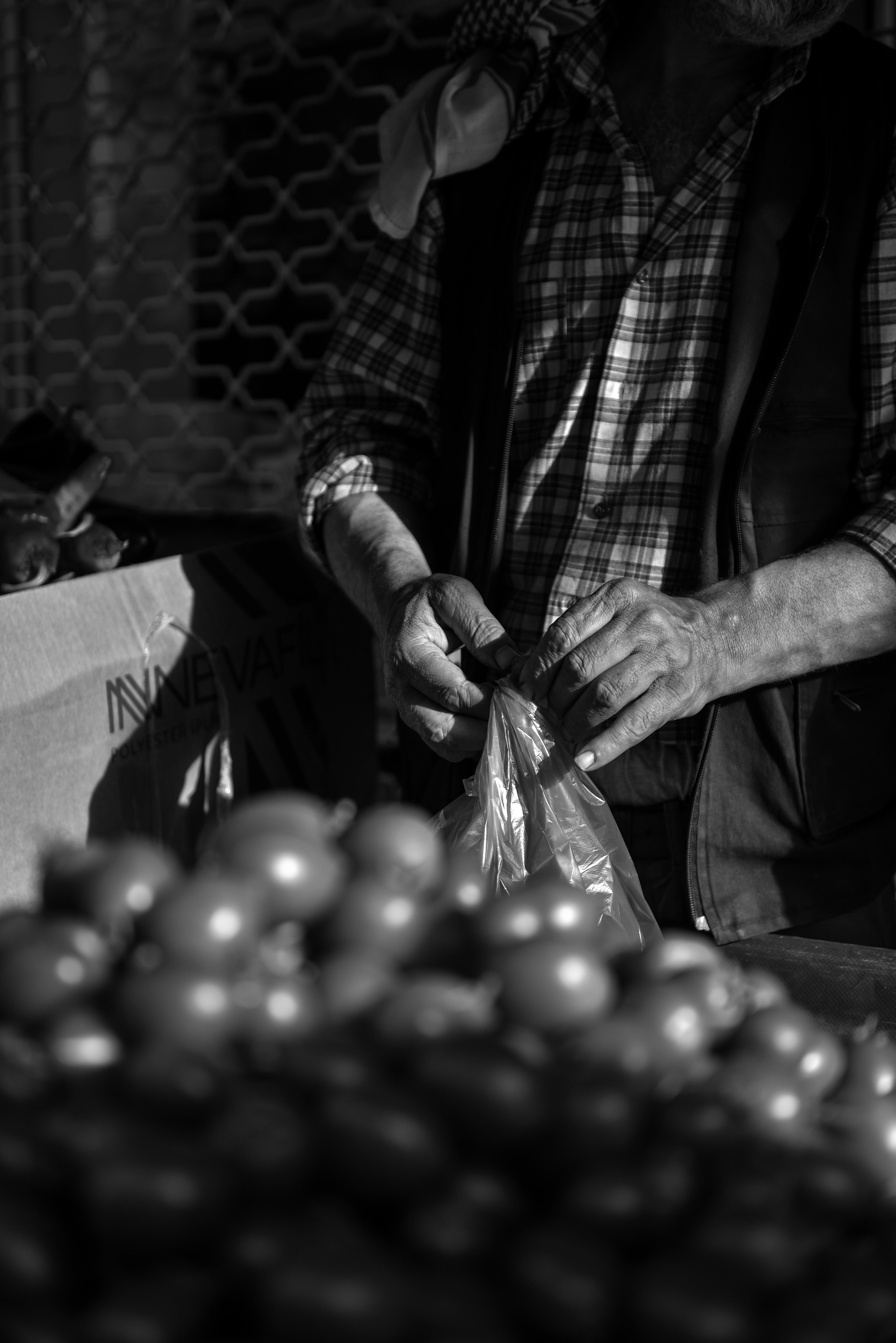 Markt Verkäufer Istanbul