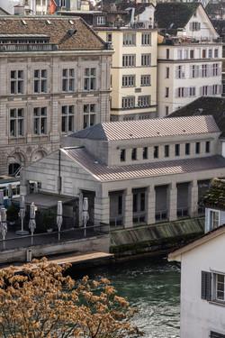 Auftragsarbeit für Cajos Architekten: Zürich Polizeiposten Rathaus