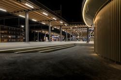Auftragsarbeit für Scheiwiller Architekten: Bahnhofsdach Arth-Goldau