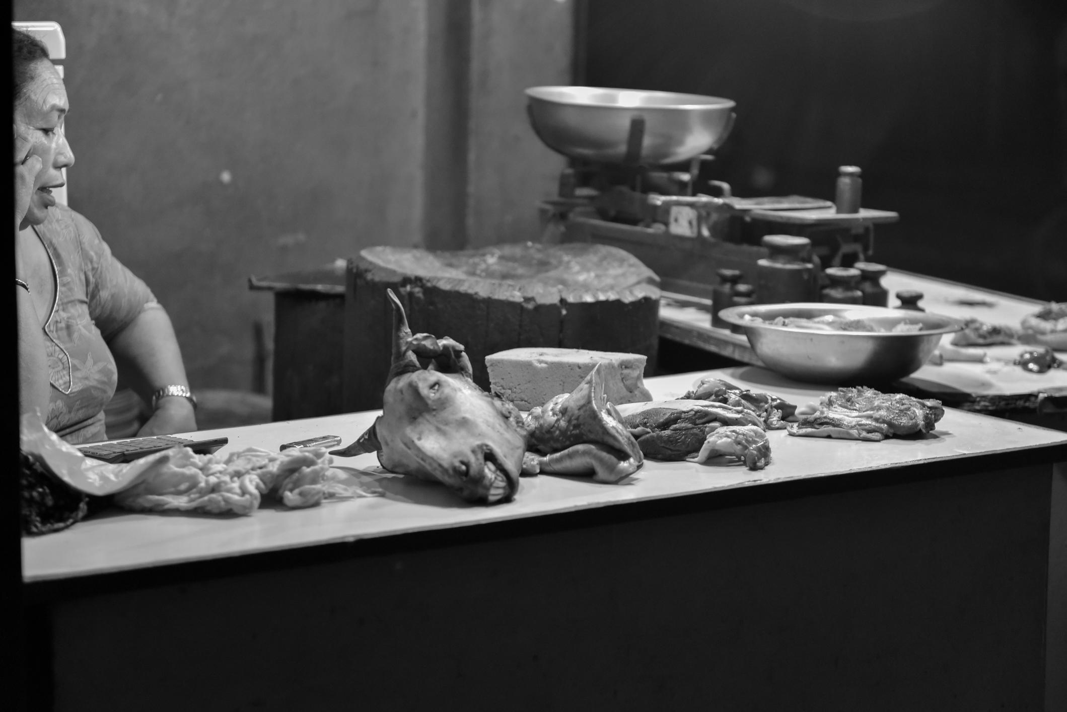 Fleischverkäufer Nepa