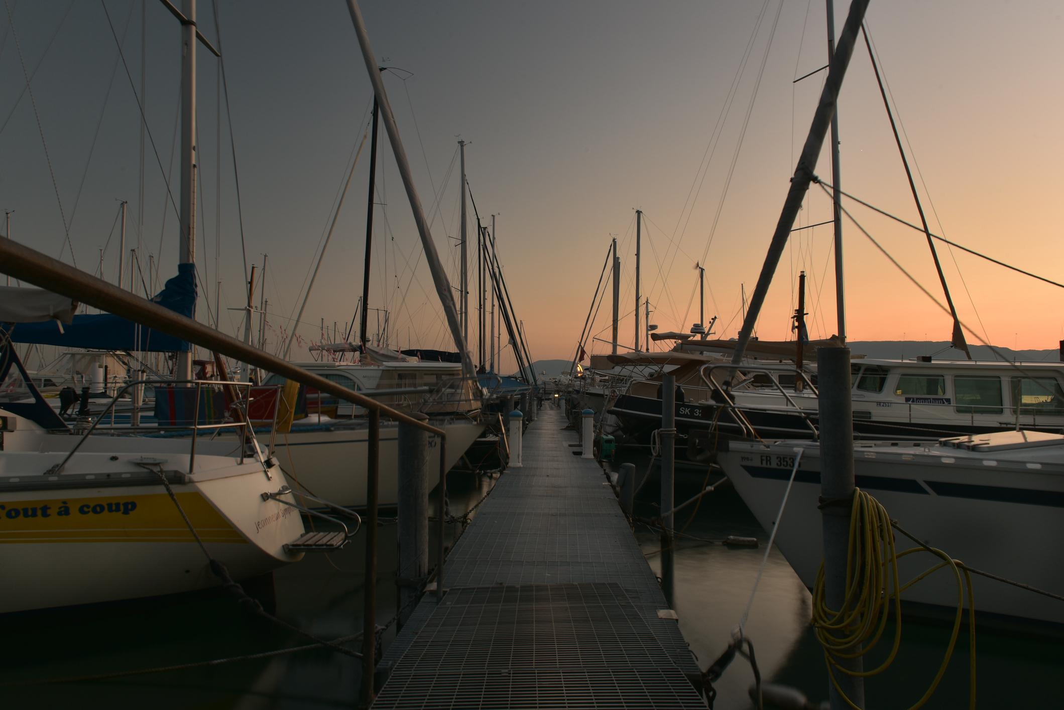 Hafen Neuenburgersee