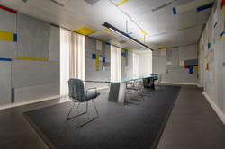 Büroraum Haus Konstruktiv