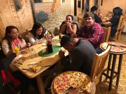 Primeiro Jantar em solo Boliviano.