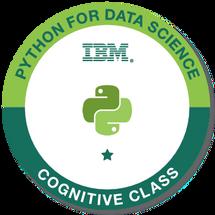Python for Data Science - IBM