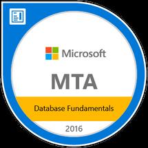 Microsoft Technology Associate (2015,2016)