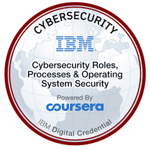 Cybersecurity Roles, Processes & Operating System Security