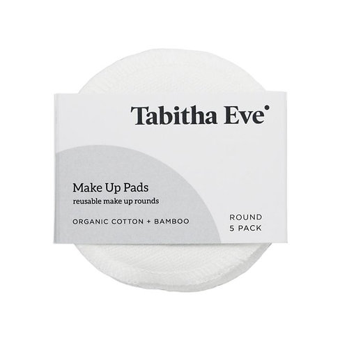 Reusable Make Up Rounds 5 pack - Tabitha Eve
