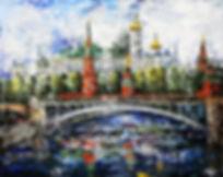 "картины ""Яркая Москва"""