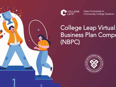 College Leap Virtual National Business Plan Competition (NBPC)