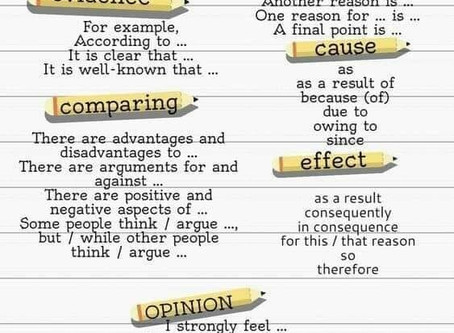 ESSAY DISCOURSE MARKERS