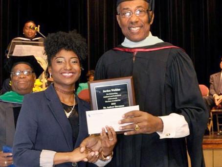 Dr. Andrew V. Stevenson International Merit Scholarship and ACBSP Regions Merit Scholarship Winners