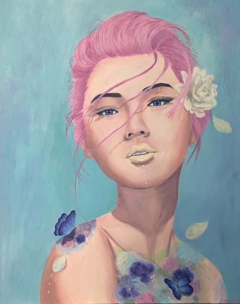 Acrylic paint 2016