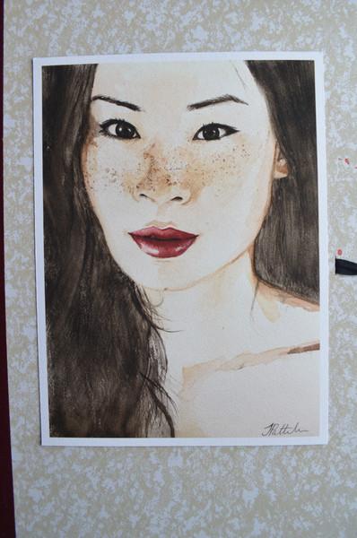 Lucy Liu Portrait