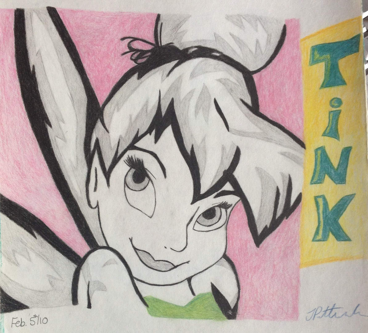 Sketchbook - Tinkerbell