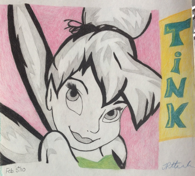 Sketchbook - Tinkerbell