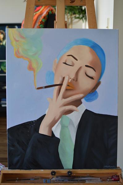"20"" x 28"" Oil on canvas 2016"