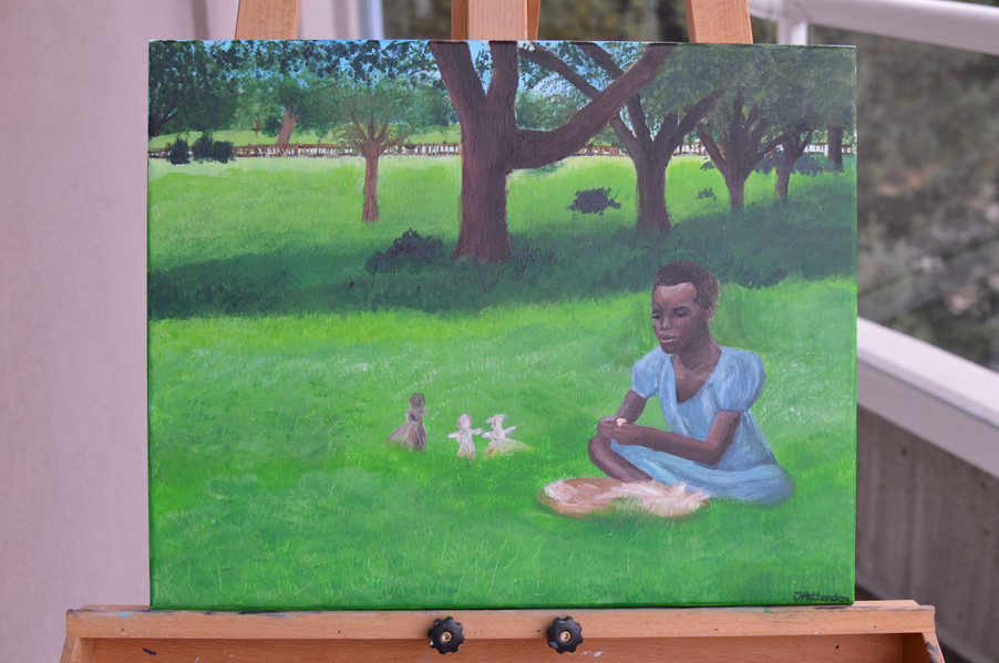 12 Years a Slave Painting