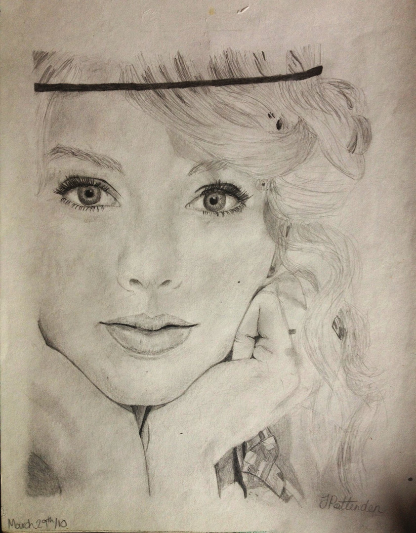 STaylor Swift Portrait