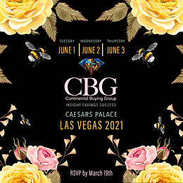 CBG Vegas 2021: The First Jewelry Trade Show Back!