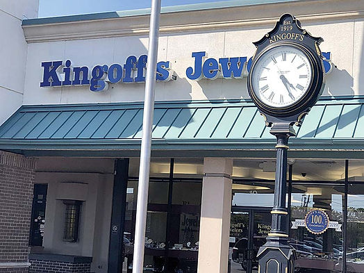 With family tradition of community service, Kingoff's Jewelers remains optimistic