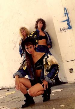Laurie, Sue and Barbara Ann
