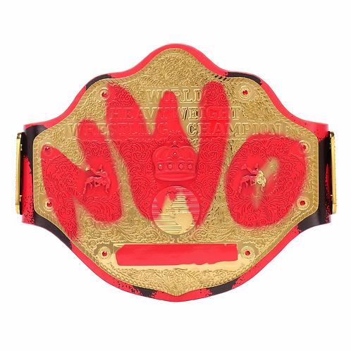 nWo Wolfpac Signature Series Championship Replica Title