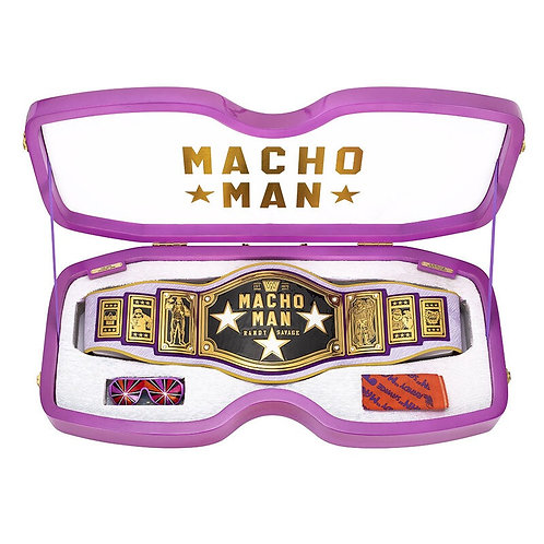 Macho Man Randy Savage Legacy Championship Collector's Title