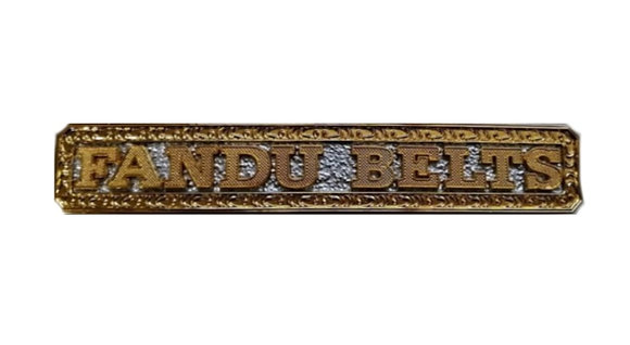 Custom Name Plate for Luxe Big Gold