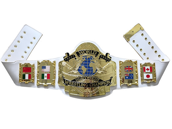 Gold Andre 87 Heavyweight Championship Belt