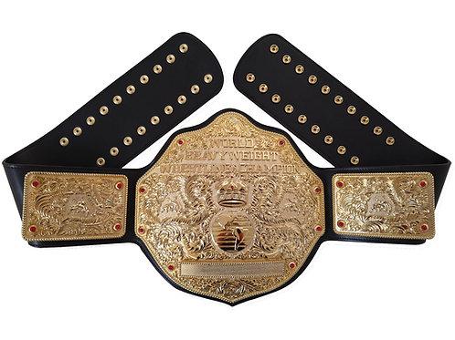 Fandu All Gold Big Gold W/ Black Strap