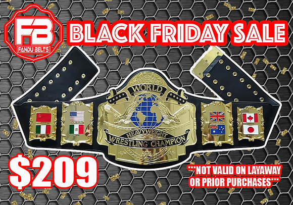 Imperfect Gold Andre 87 Heavyweight Championship Belt