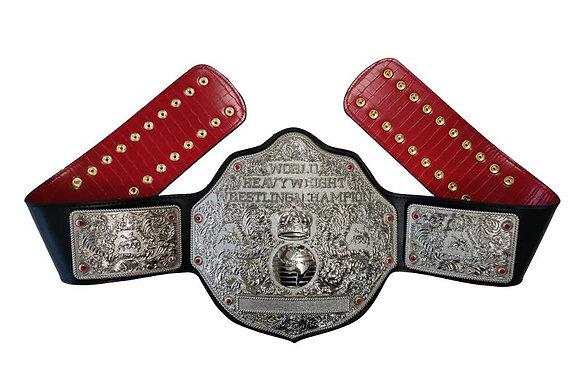 Silver Big Gold World Heavyweight Championship Belt