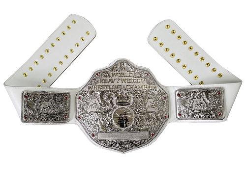 Fandu Silver Big Gold W/ White Strap