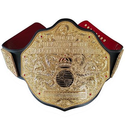 Gold Big Gold World Heavyweight Championship Belt - LUXE EDITION