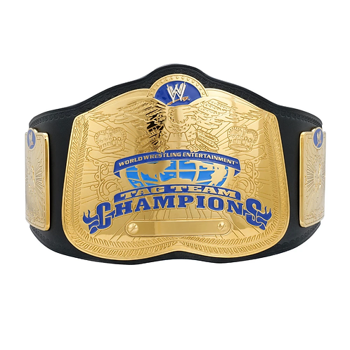 WWE Ruthless Aggression SmackDown Tag Team Championship Replica Title