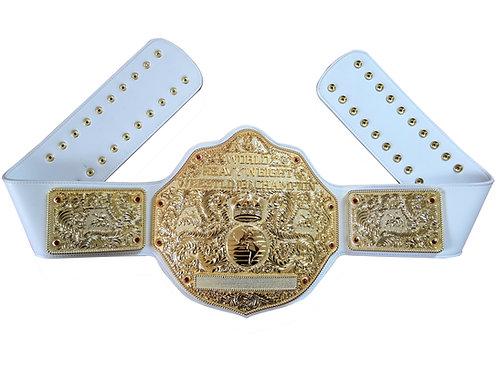Fandu All Gold Big Gold W/ White Strap