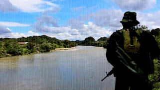 Caravana Humanitaria por la Vida y la Permanencia en el Territorio San Juan, en Chocó