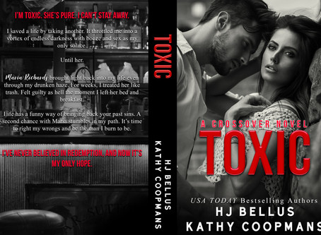 #COVERREVEAL - Toxic by HJ Bellus and Kathy Coopmans