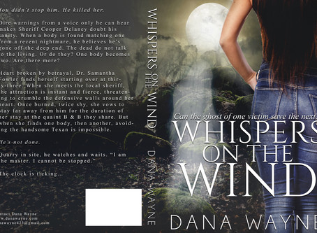#COVERREVEAL - Whispers On The Wind by Dana Wayne