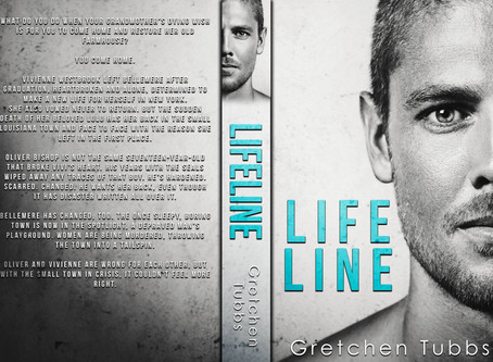 #COVERREVEAL - Lifeline by Gretchen Tubbs