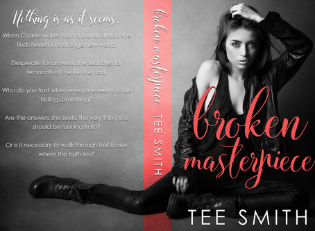 #COVERREVEAL - Broken Masterpiece by Tee Smith