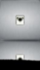 prise RJ45 design sur plaque en acier coloris acier brosse,laiton brosse, chrome miroir