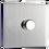 Thumbnail: Variateur LED Design Rotatif Acier Brossé