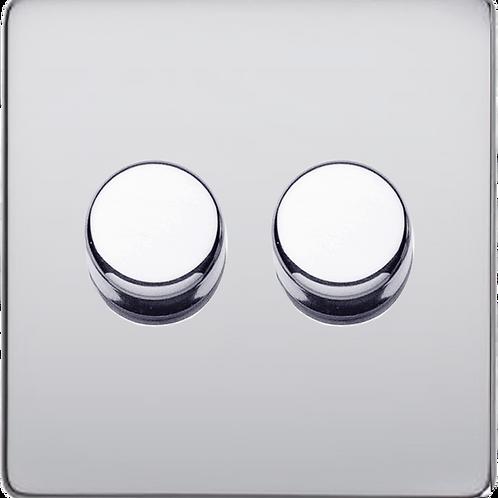 Variateur Design Rotatif Double Chrome