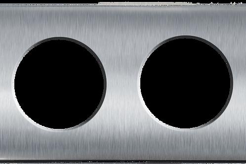 Plaque double Composable