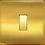 """Thumbnail: Interrupteur design """"Classic"""" Laiton Brossé"""