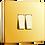"""Thumbnail: Interrupteur design """"Classic"""" Double Laiton Poli"""