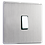 "Thumbnail: Interrupteur design ""Classic"" Acier Brossé"